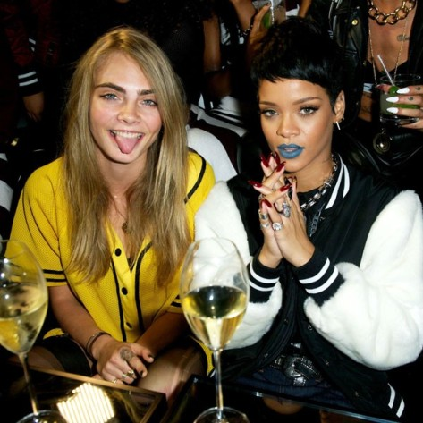 Rihanna and Cara