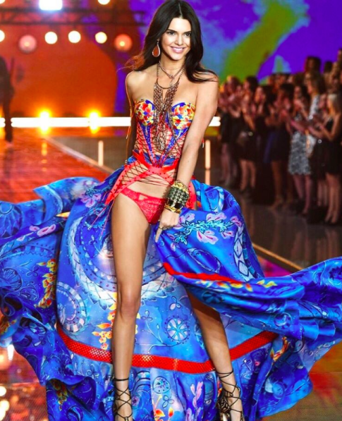 Kendall Jenner Victoria's Secret Fashion Show 2015