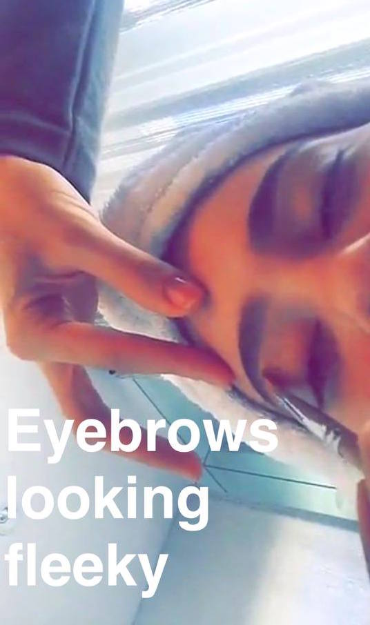 kylie eyebrows