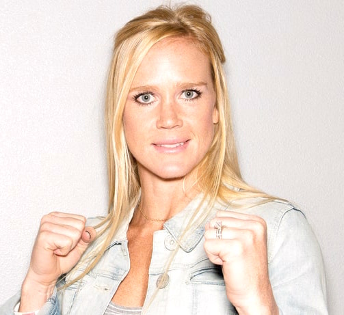 Holly Holm Fists