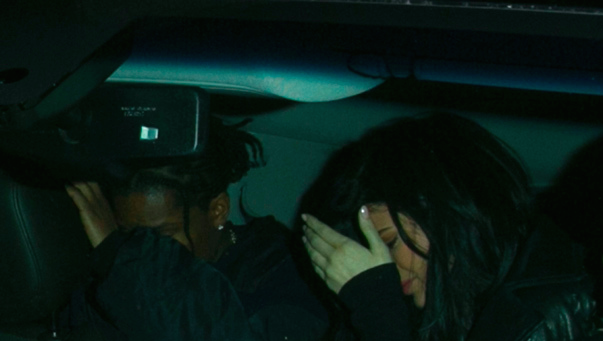 kylie jenner and asap rocky hiding