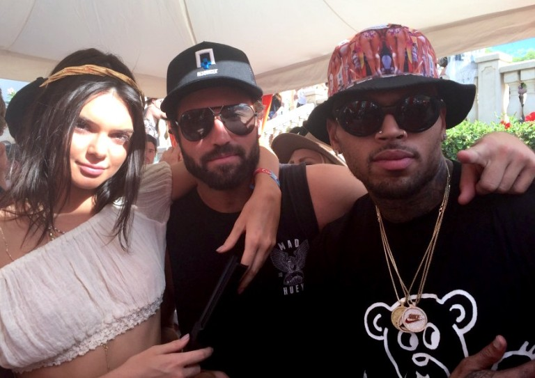 Kendall Jenner Brody Chris Brown