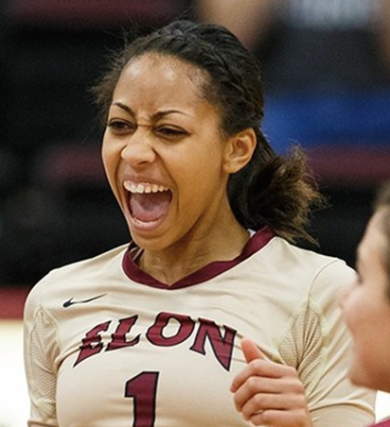 Sydel Curry Elon Volleyball