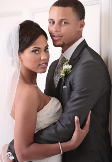 Ayesha and Stephen Curry married