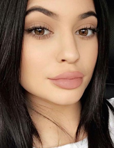 Kylie Jenner Lips up close