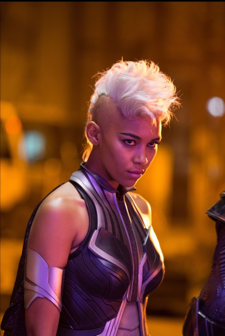 DF-02536 Alexandra Shipp as Ororo Munroe / Storm in X-MEN: APOCALYPSE.