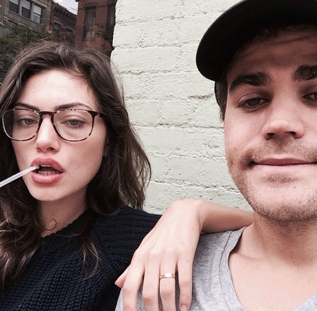 Phoebe Tonkin and Paul Wesley Engaged