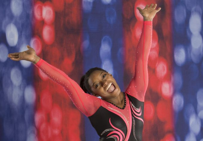 Simone Biles All Around Champion